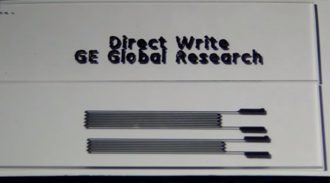 Direct Write von GE Global Research