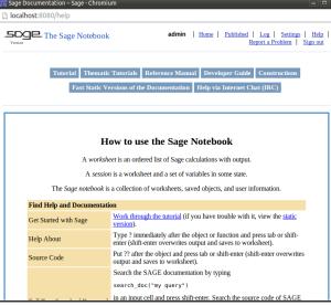 sage notebook
