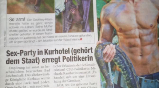 Sex-Party in stattlichen, staatlichem Kurhotel erregt Politikerin