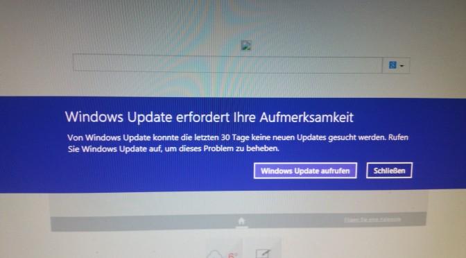 Windows 8 benutzt meinen PC fast ganz selbsttätig und alleine