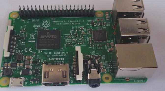 Installation von Raspbian und OpenCV auf Raspberry Pi 3; Teil 1
