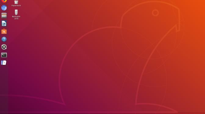 Ubuntu 18.04 LTS, Bionic Beaver